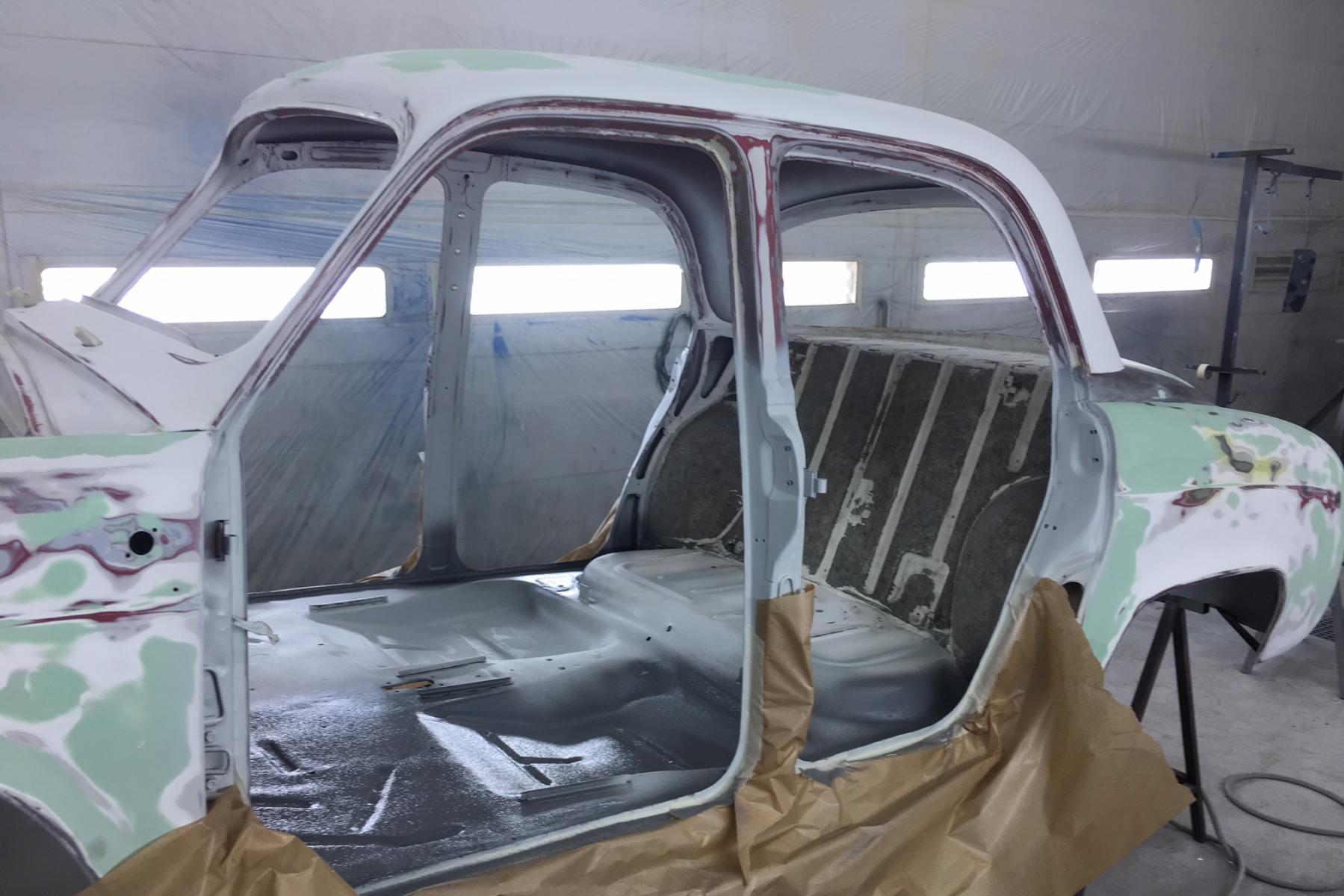 Dauphine Gordini 1095 Renault Restauration Classic Auto Restor